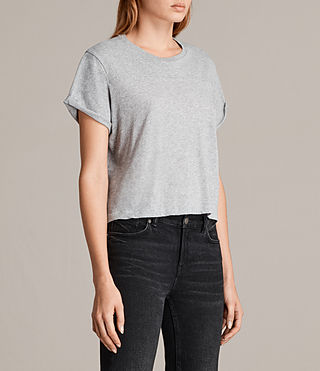 Femmes T-shirt Alby (Grey Marl) - product_image_alt_text_2