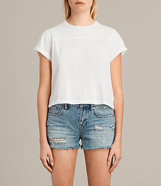 Femmes T-shirt Alby (Chalk White) -