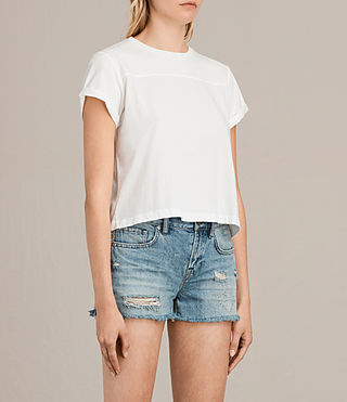 Femmes T-shirt Alby (Chalk White) - product_image_alt_text_2