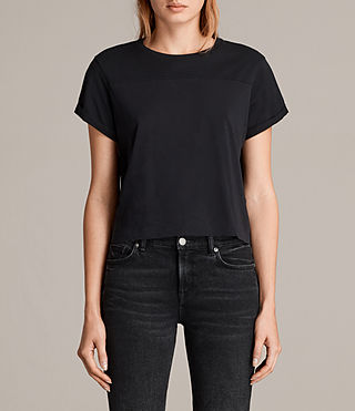 Damen Alby Tee (Black) -