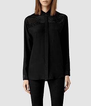 Womens Lota Shirt (Black)