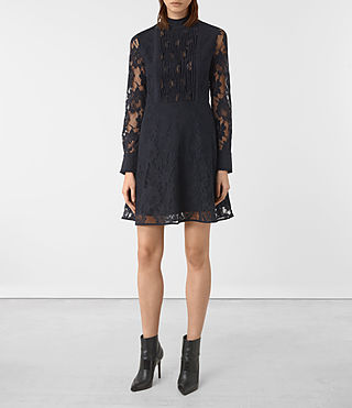 Damen Marela Dress (Ink Blue)