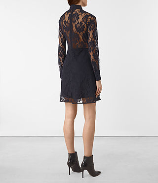 Mujer Marela Dress (Ink Blue) - product_image_alt_text_5