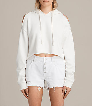 Womens Mae Hoody (Vintage White) - product_image_alt_text_1