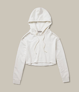 Womens Mae Hoody (Vintage White) - product_image_alt_text_5