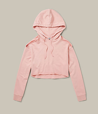 Womens Mae Hoody (CAMELIA PINK) - product_image_alt_text_2