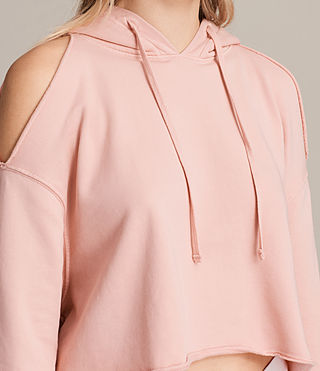 Womens Mae Hoody (CAMELIA PINK) - product_image_alt_text_3