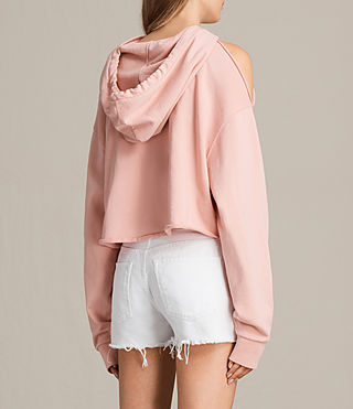 Womens Mae Hoody (CAMELIA PINK) - product_image_alt_text_5