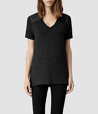 Womens Abel T-Shirt (Black)