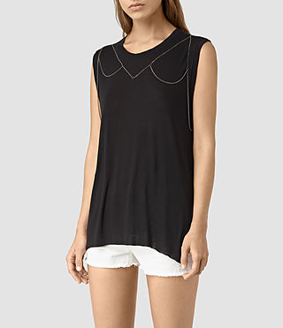 Women's Zemery Tank (Black)