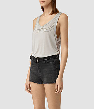 Mujer Zemery Tank (Grey) - product_image_alt_text_3