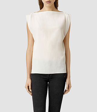 Womens Ira Se Top (Chalk)
