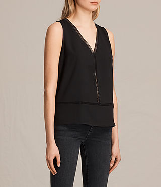Donne Crace Top (Black) - product_image_alt_text_2