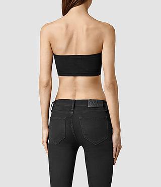 Mujer Bri Bandeau (Black) - product_image_alt_text_3