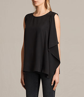 Donne Top Lisa (Black) - product_image_alt_text_2