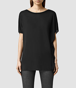 Womens Astra Tee (Black)