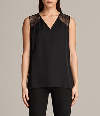Womens Prism Top (Black) - Image 1