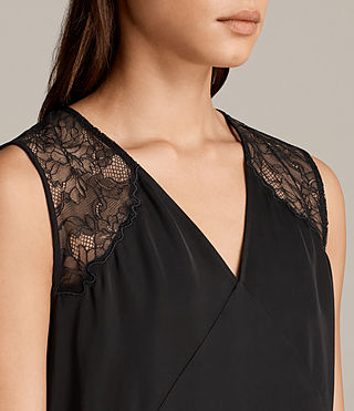 Womens Prism Top (Black) - Image 2