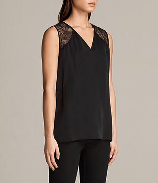 Womens Prism Top (Black) - Image 3