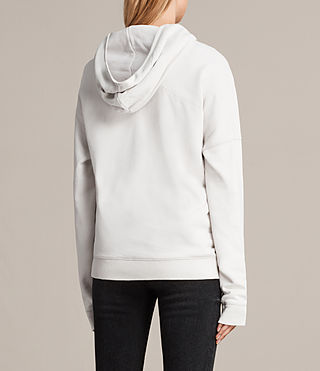 Womens 펄 후디 (IVORY WHITE) - product_image_alt_text_4