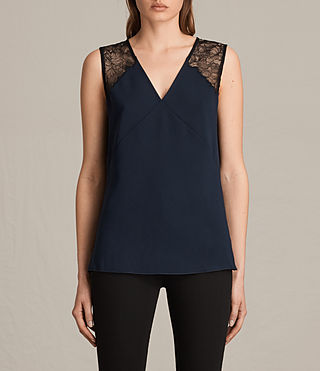 Women's Prism Top (MYSTIC BLUE/BLACK) -