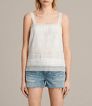 Mujer Camisola Janey (Chalk White) - product_image_alt_text_1