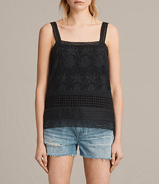 Donne Top Janey (Black) - Image 1