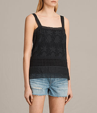 Donne Janey Camisole (Black) - product_image_alt_text_2