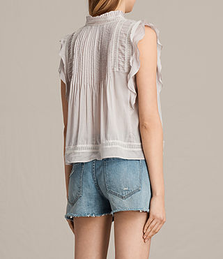 Damen Evelina Top (Pale Grey) - Image 4