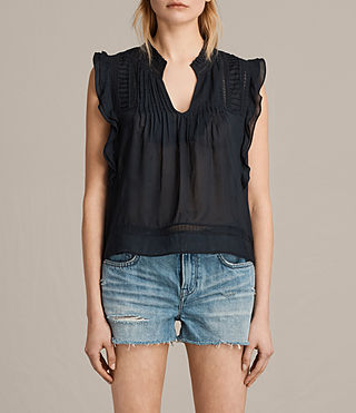 Femmes Evelina Top (Black) -