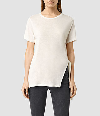 Womens Cyril Tee (Chalk White)
