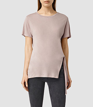 Womens Cyril Tee (ROSE PINK)