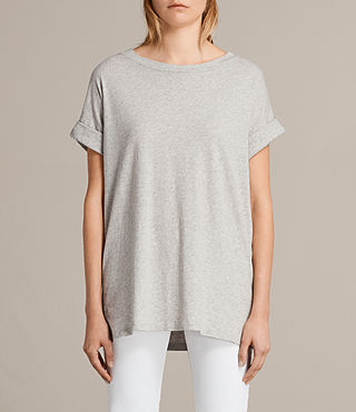 Donne T-shirt Imogen Boy (Grey Marl) - Image 1