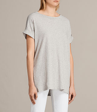Donne T-shirt Imogen Boy (Grey Marl) - Image 2