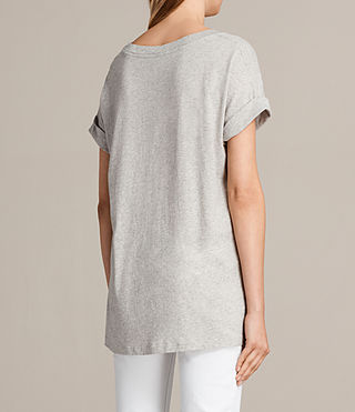Donne T-shirt Imogen Boy (Grey Marl) - Image 3