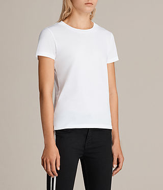 Mujer Imogen Tee (Optic White) - product_image_alt_text_2