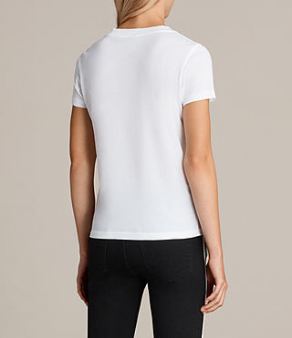 Mujer Imogen Tee (Optic White) - product_image_alt_text_3