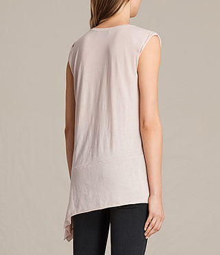 Women's Lauryn Sleeveless Tee (CAMI PINK) - Image 3