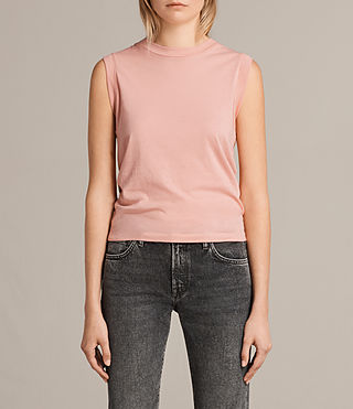 Mujer Camiseta Imogen Tank (CAMELIA PINK) - product_image_alt_text_1
