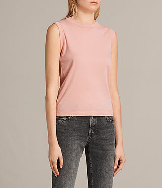 Mujer Camiseta Imogen Tank (CAMELIA PINK) - product_image_alt_text_2