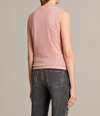 Mujer Camiseta Imogen Tank (CAMELIA PINK) - product_image_alt_text_3