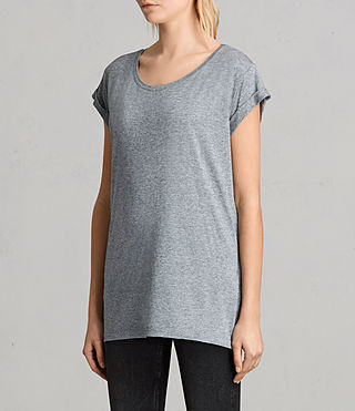 Women's Alisee Tee (PEPPER BLACK) - product_image_alt_text_2