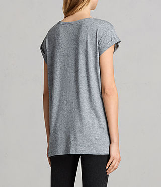 Womens Alisee Tee (PEPPER BLACK) - Image 3