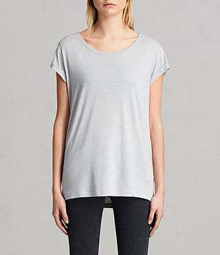 Mujer Camiseta Alisee (STORM GREY) - product_image_alt_text_1