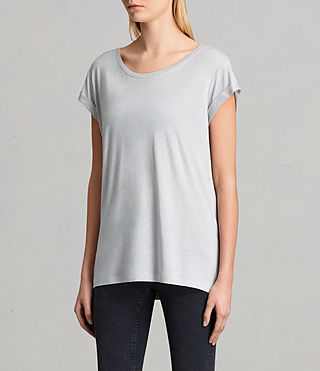 Mujer Camiseta Alisee (STORM GREY) - product_image_alt_text_2