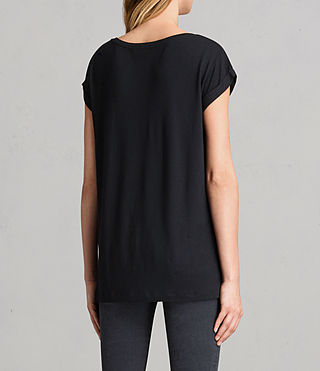 Donne T-shirt Alisee (Black) - Image 3