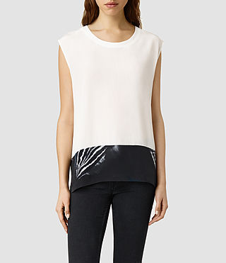 Womens Nicole Piuma Top (Jade)