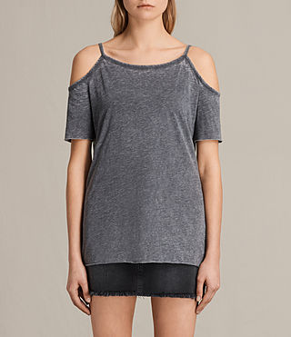 Women's Tyra Devo Top (COAL GREY)