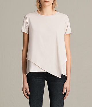 Womens Daisy Tee (CAMI PINK) - product_image_alt_text_1