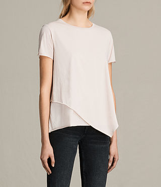 Womens Daisy Tee (CAMI PINK) - product_image_alt_text_2